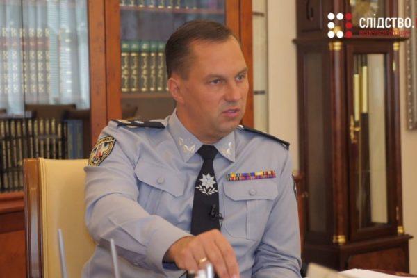 Дмитро Головін іде з посади очільника поліції Одещини