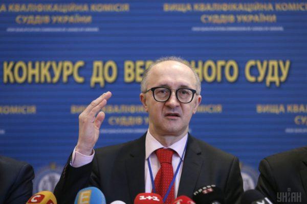 Окружний адмінсуд Києва заборонив Козьякову виконувати обов'язки голови ВККС