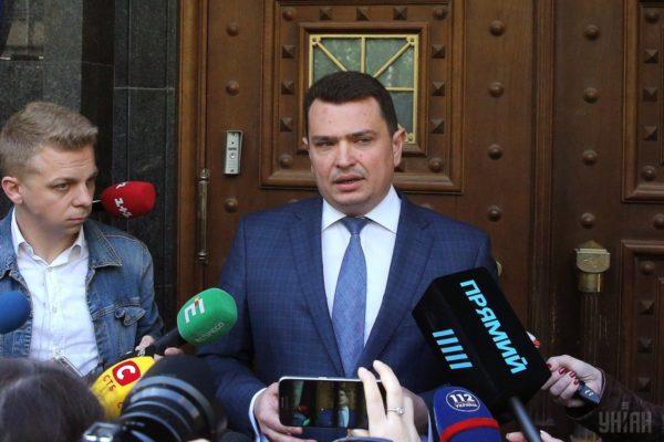 Директор НАБУ Ситник назвав заяву Крючкова про хабар «способом захисту»