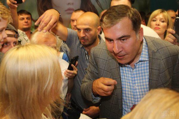 «Я це можу тільки привітати»: Саакашвілі — про повернення Портнова в Україну