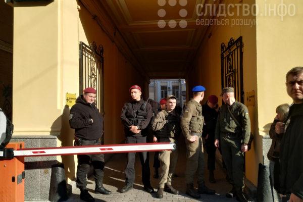 Господарський суд Києва «замінували» перед засіданням щодо ПриватБанку