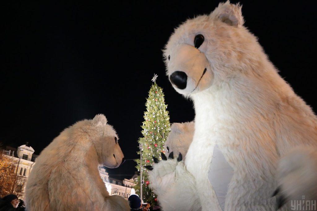 Новорічні заходи у Києві, ФОТО УНІАН, автор Денис Прядко