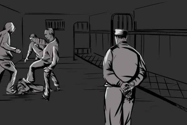 """Як в'язнів Одеського СІЗО """"падають з нар"""""""