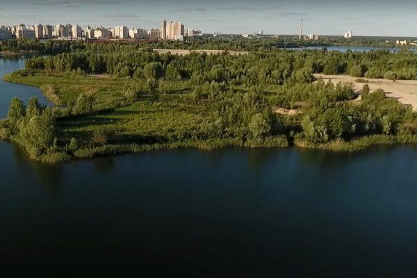 У проєкті генплану Києва передбачили будівництво у прибережній зоні