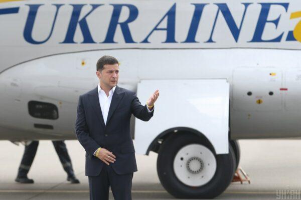 Держава вирішила відмовитися від покращення інтернету в президентському літаку за 32 млн грн