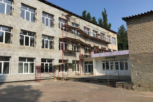 Спецбудуправління СБУ отримало понад 70 мільйонів з бюджету на реконструкцію школи в Авдіївці