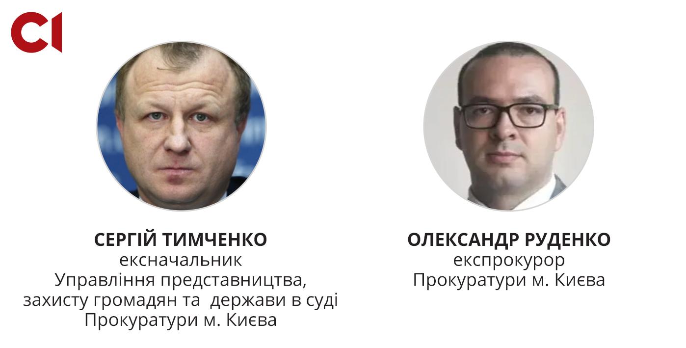 Експрокурори київської прокуратури, яких підозрюють у причетності до розгону Євромайдану