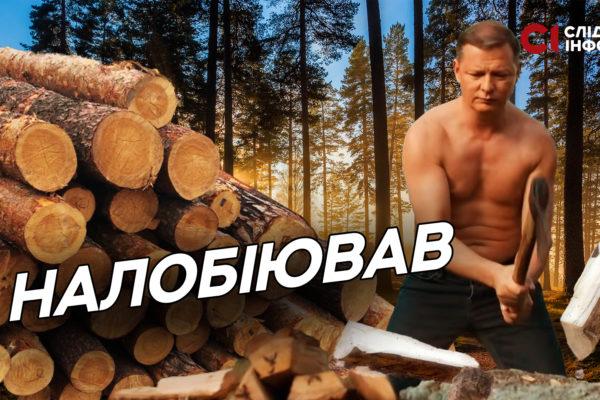 Ляшко і ліс: як радикал пролобіював інтереси свого нового бізнесу