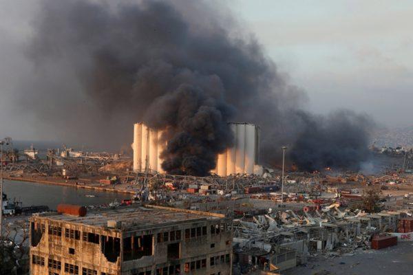 Вибух аміачної селітри в порту Бейруту: український слід